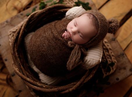 Koah Cruz Dinnematin - Newborn Shoot