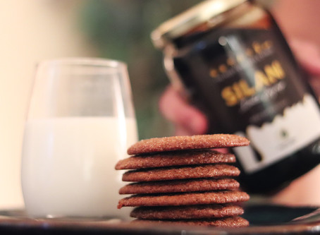 Silan Date Syrup Snap Cookies