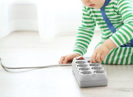 Is your child's bedroom an electrical warzone?