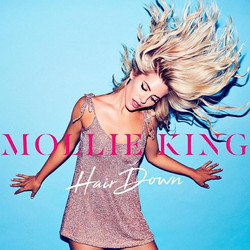 💙🔥New artwork for _mollieking 😍🔥 #HairDown is out 1 Sept 💥⚡️ hair _patrickwilson styling _frank