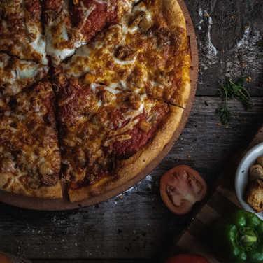 Moussaka Pizza