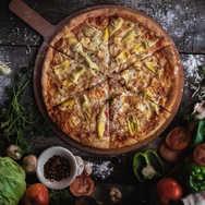 Chicken Gorgonzola Pizza