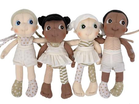 Mini EcoBuds Puppen