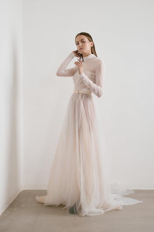 Minimalistické šaty s rolákem (kolekce 2021)
