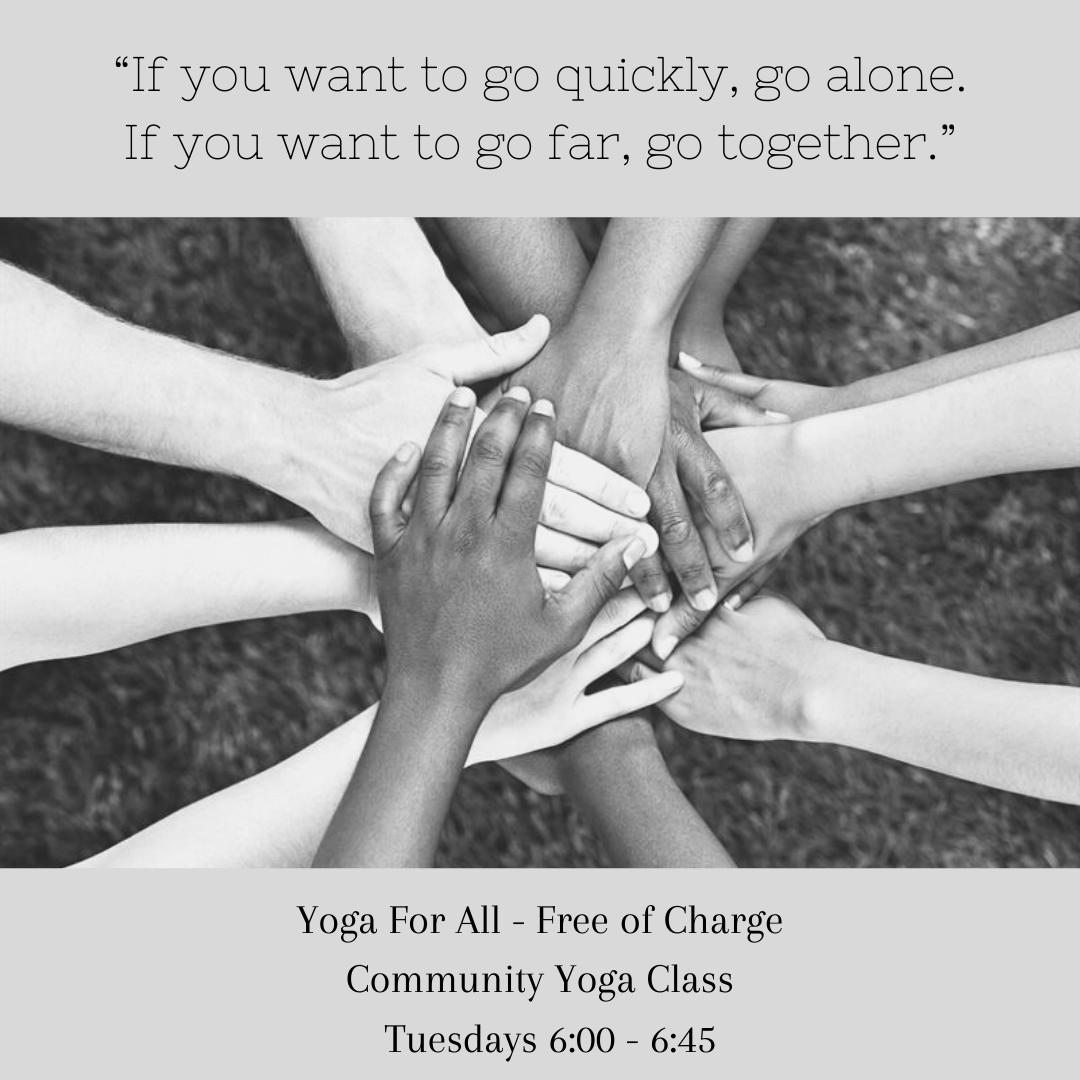 Free Community Class