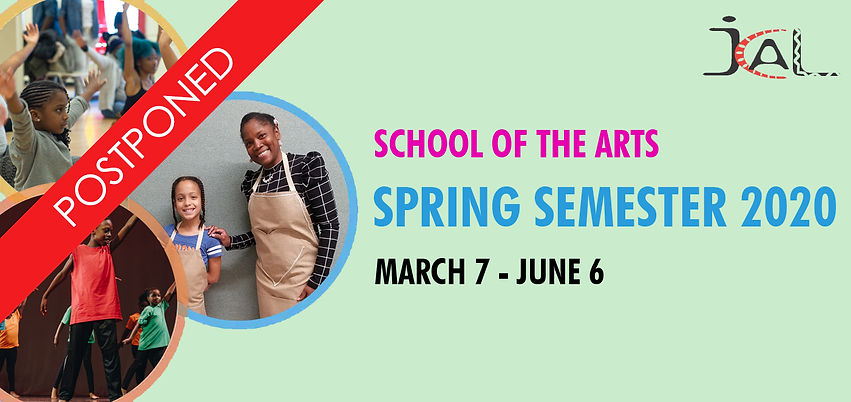 school of the arts spring 2020_postponed