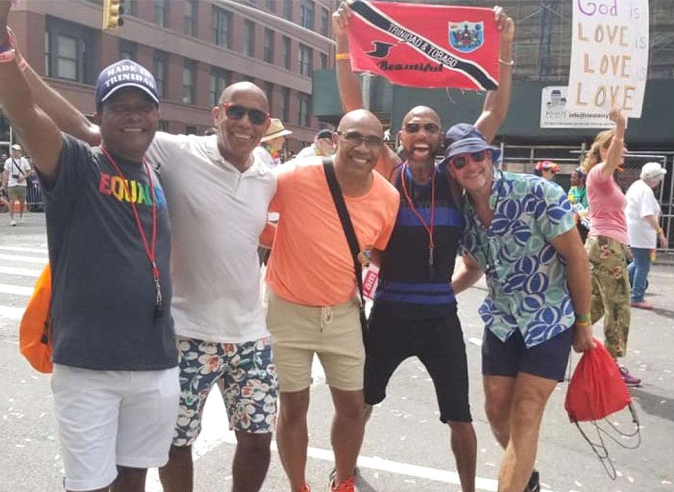 Marching with CEP in the NYC Pride March, 2018