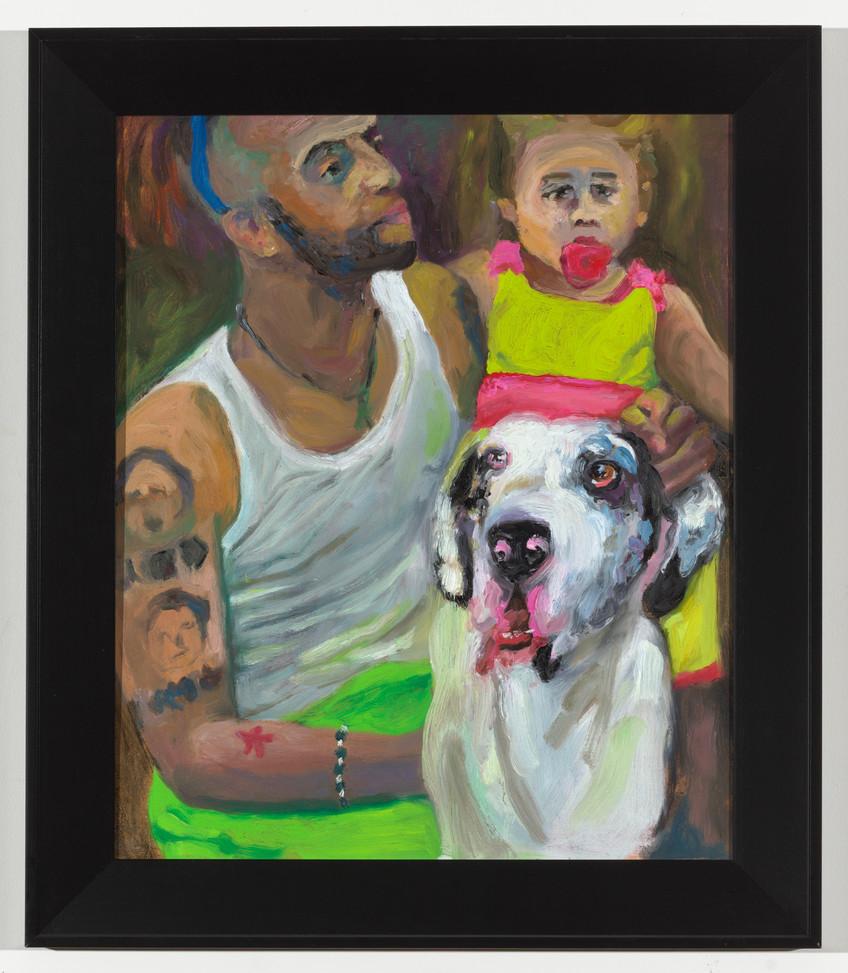 Tattoos, Girl, & Dog