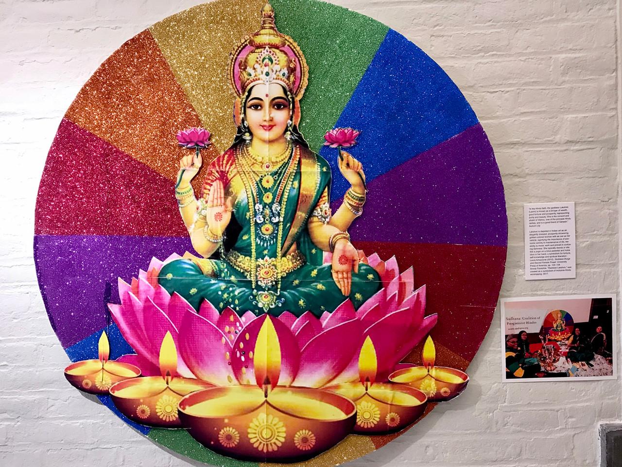 Installation View (Rainbow Lakshmi)