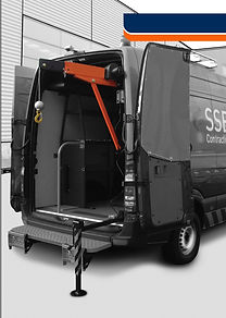 Kleinkrane 500 kg mit der Fahrzeugelektrik zu betreiben.