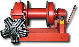 Hydraulische Zugseilwinde bis 15 toType PH (Schneckengetriebe)