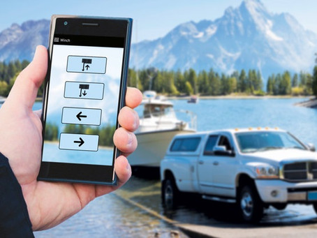 Bluetooth Seilwinden Steuerung mit Ihrem Mobilfunktelefon