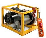 230 / 400 Volt Hubseilwinde bis 500 kg hoche Seilgeschwindigkeit