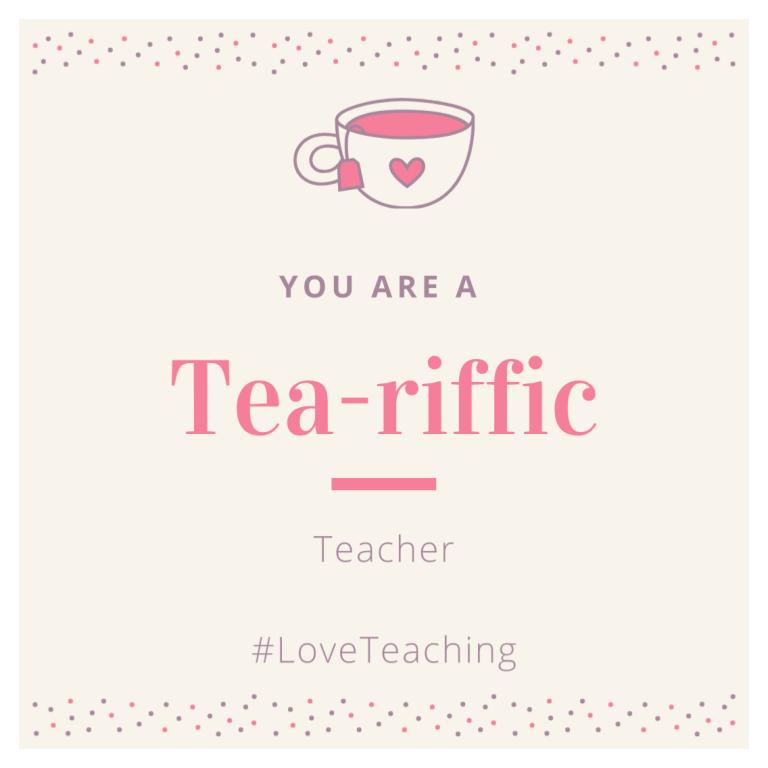 #LoveTeaching Gram (1)