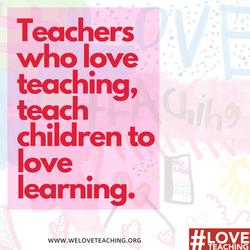 LTW Teachers who love teaching