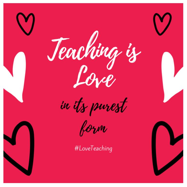 #LoveTeaching Gram (6)