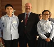 Dexter Public School hosts Chinese exchange students