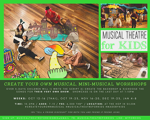 Create your own musical Musical Theatre