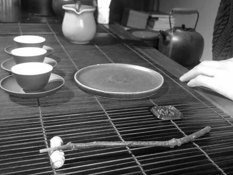 茶禅茶道のお稽古 -岩茶 半天腰-