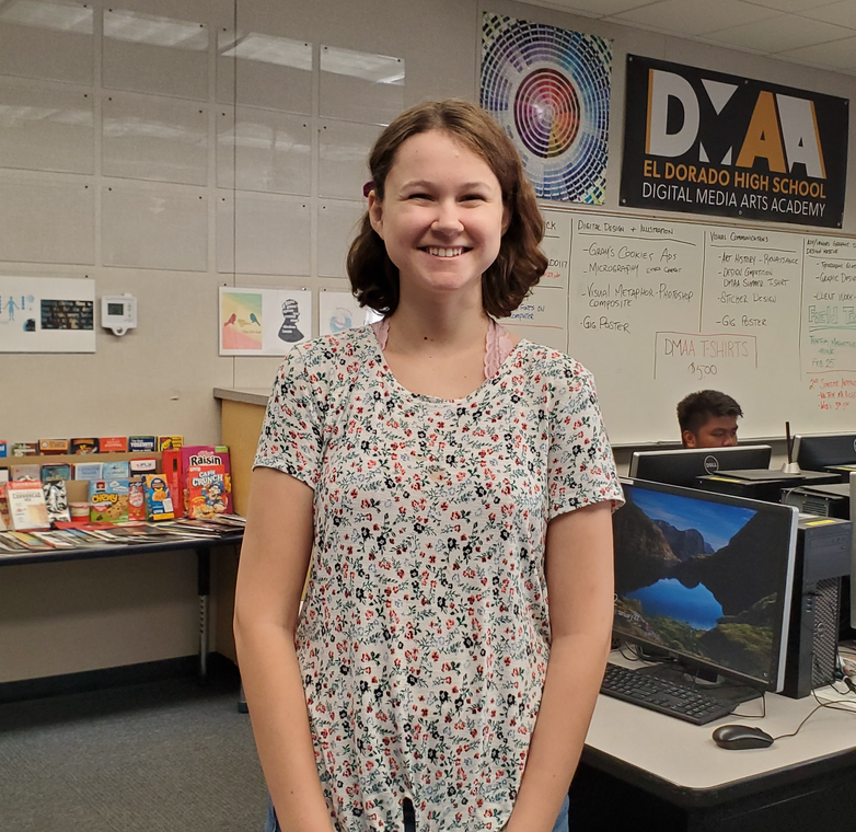 Carlee Elders is the DMAA Student of the Week for January 26 - February 2