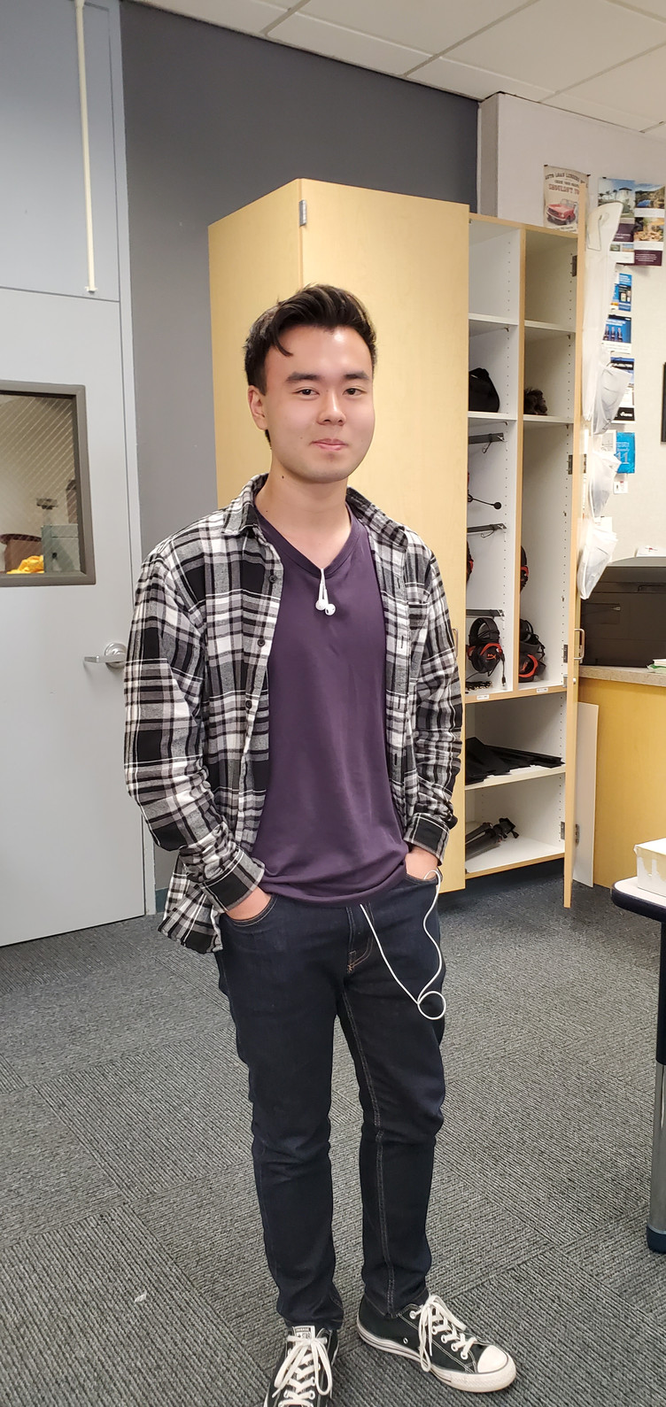 Daniel Kim is the DMAA Student of the Week for October 13-19