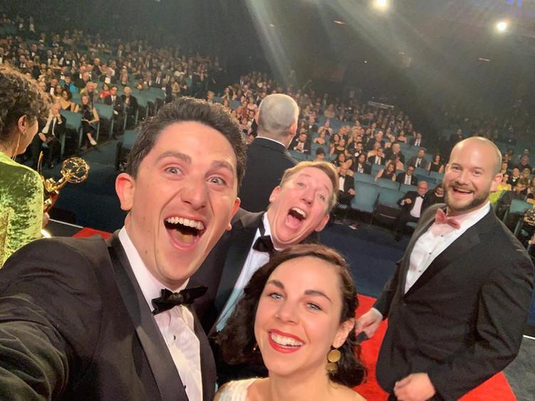 Tony Sherg '10 Wins an Emmy!  #StarWarsShow