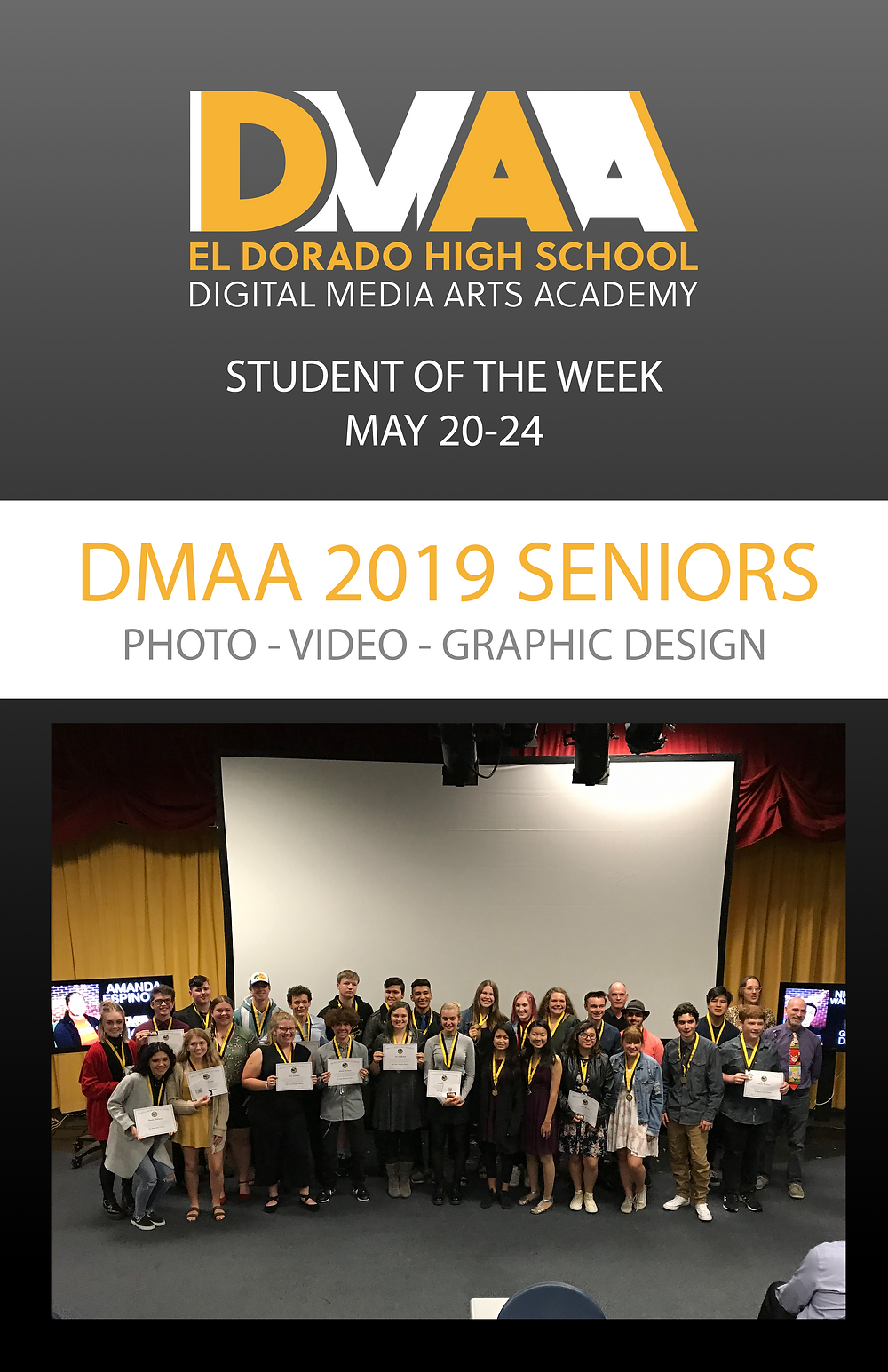 picture of DMAA seniors