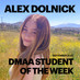 Alex Dolnick is the DMAA Student of the Week for 9/21-9/27