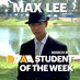 Max Lee is the DMAA Student of the Week for March 8-14