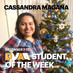 Cassandra Magana is the DMAA Student of the Week for December 7-13