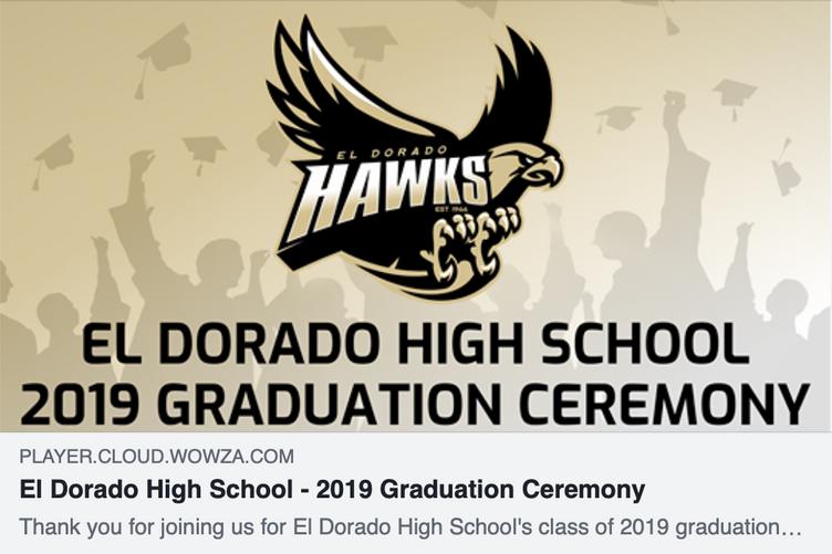 Watch the Live Stream Video of Graduation