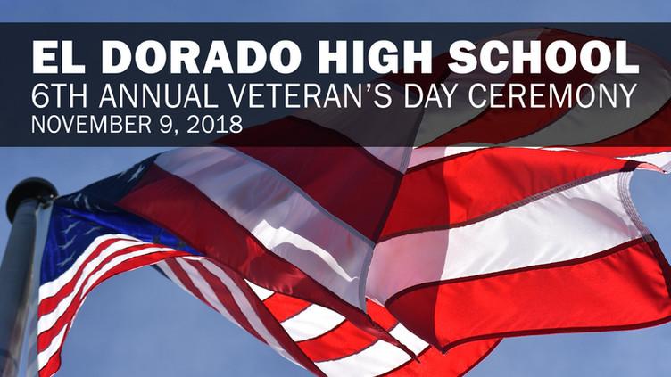 EDHS Veteran's Day Ceremony