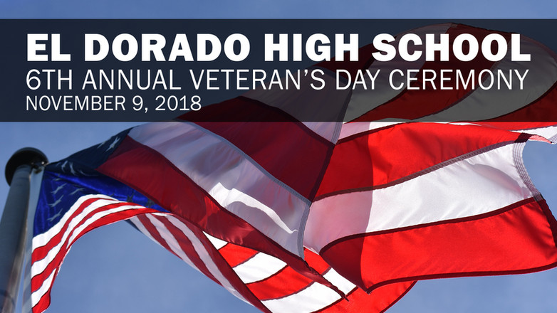 EDHS Veteran's Day Ceremony