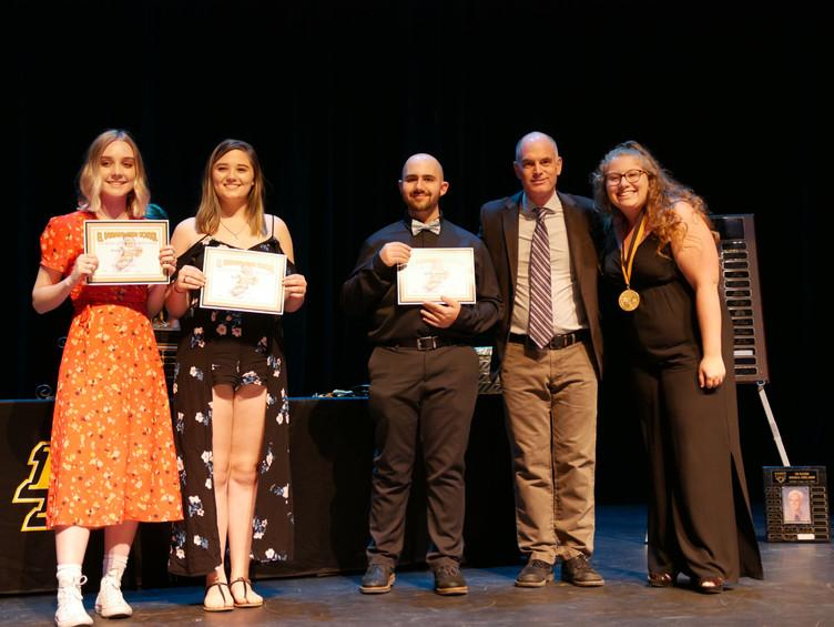 DMAA Students Honored at EDHS Senior Awards Ceremony