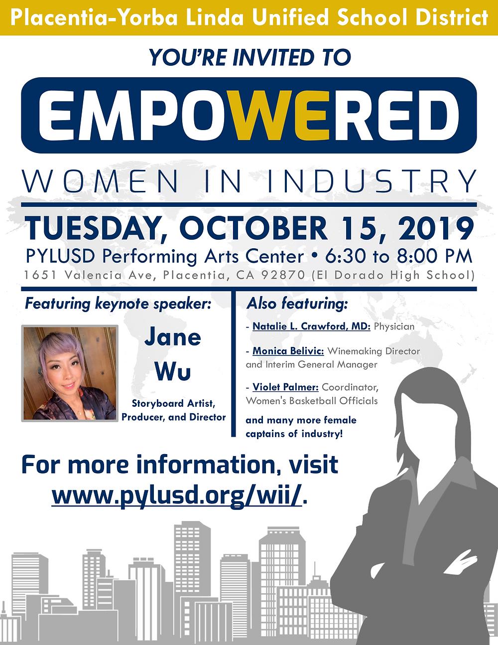 empowered flyer