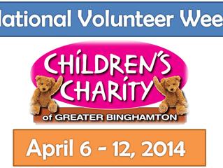 Children's Charity Celebrates 40th Annual National Volunteer Week