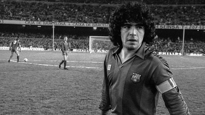 Fútbol, drogas, música, fiesta…un ídolo: Adiós Diego