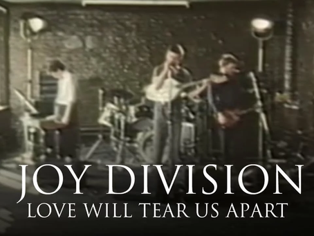 Love Will Tear Us Apart...un día como hoy se grabó el video