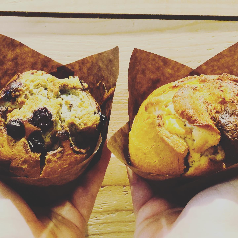 Muffins Myrtilles / Nutella