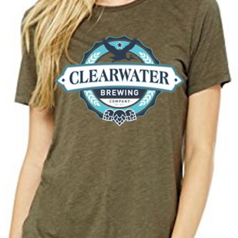 Olive Triblend T-shirt