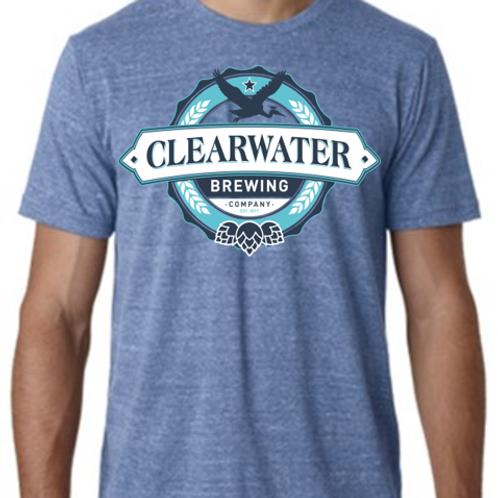Blue Triblend T-Shirt