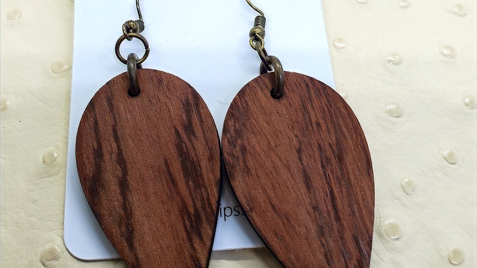 Reverse Raindrop Earrings