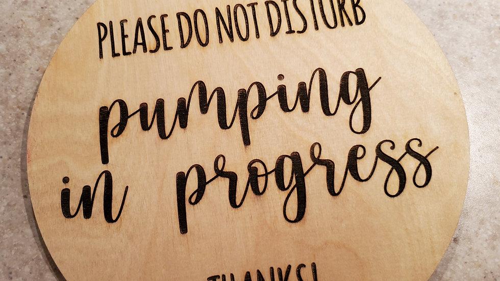 Pumping Sign