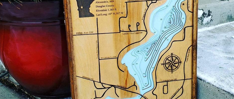 Custom Lake Signs