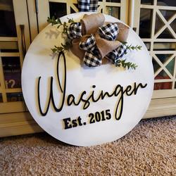 wasinger sign