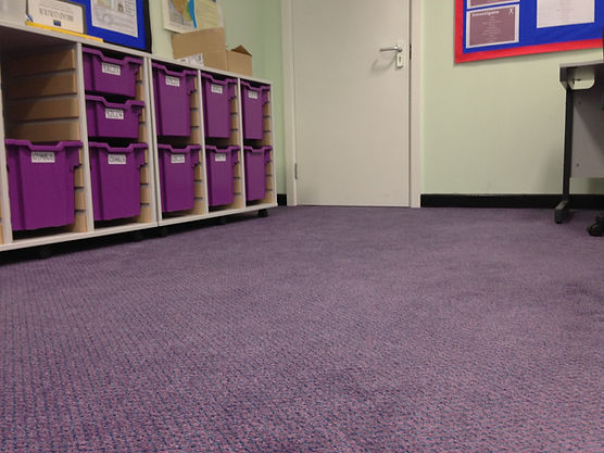 JHS carpeting for schools, J D Flooring Leeds, heavy duty hard wearing carpet for schools