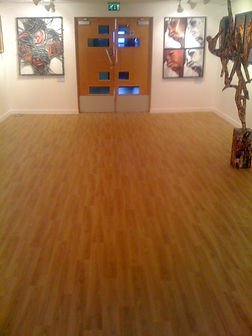 Vinyl Flooring Leeds, Safety Flooring, Polysafe wood vinyl, flooring for schools