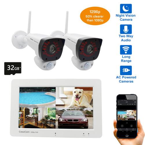 4-channel Wireless NVR