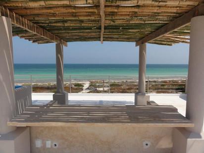 Beach club Río Lagartos