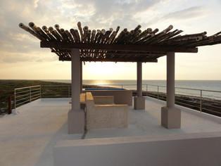 Casa club de playa Río Lagartos